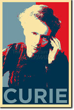 MARIE CURIE POSTER - Unique Photo Art Print Gift - Chemistry