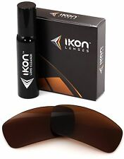 Polarized IKON Replacement Lenses For Spy Dirk Sunglasses Bronze