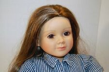 "My Twinn Doll 23""  Brown Hair & Brown Eyes Posable Body with orig.clothes"