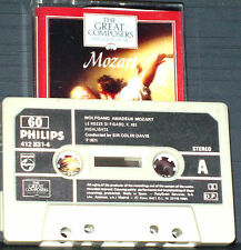 MOZART FIGARO DON GIOVANNI HIGHLIGHTS CASSETTE PHILIPS GREAT COMPOSERS 60 OPERA