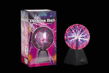 TOUCH SENSITIVE PLASMA BALL PLASMA GLOBE SOUND ACTIVATED OR CONSTANTLY ON