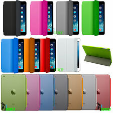 CUSTODIA COVER PELLE PER IPAD MINI MAGNETICA STAND + HARD BACK CASE + PELLICOLA