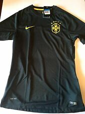 Nike Brazil FIFA World Cup Authentic Gold Label Large Soccer Jersey 575278-337