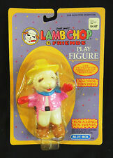Poseable Vinyl Shari Lewis's Lamb Chop in a Cowboy Outfit : F.W. Woolworth, 1994