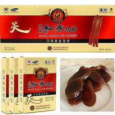 Sliced Korean Red Ginseng 200g (20g x 10 pack) Panax ginseng, Goryeo insam