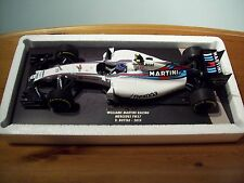 1/18 MINICHAMPS WILLIAMS MARTINI RACING MERCEDES FW37 #19 VALTERI BOTTAS 2015