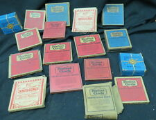 17 boxes vintage 1920s engine parts / perfect circle rings / compression & other