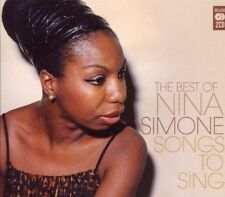 Nina Simone - Songs to Sing (Very Best Of Nina Simone) (2CD Set 2010) New