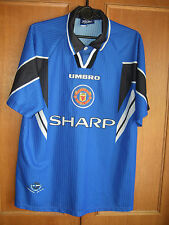rare vintage Manchester United 1996/97 SHARP football shirt Size Large adult