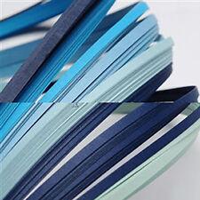 120 strisce quilling basse 3 mm tonalità blu 2