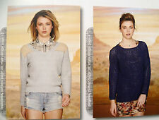 ROWAN STUDIO KNITTING PATTERN Book Issue No 31 - CARDIGANS SWEATERS - 8 Designs