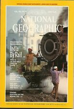 VINTAGE NATIONAL GEOGRAPHICS MAGAZINE; JUNE 1984,6/84 INDIA BY RAIL, HAGI, ANTS