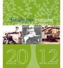 Family Tree Magazine 2012 Genealogy Desk Calendar