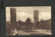 Vintage Sepia Postcard Battle Abbey- The Watch Tower Essex unposted