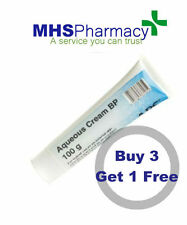 SPECIAL OFFER  Aqueous Cream 100g Tube for Dry Skin buy 3 get one 1