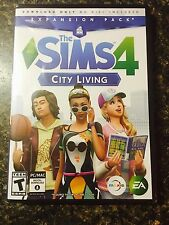 The Sims 4: City Living Expansion Pack for PC (Windows or MAC) NEW & SEALED!