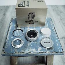 Nikon 45mm f/2.8P Nikkor AI-S