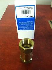 WATTS 3/4 COMPACT BRASS CHECK VALVES, gas, inline, threaded