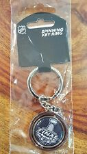 New 2016 Stanley cup final spinning key ring -  Sharks vs Penguins