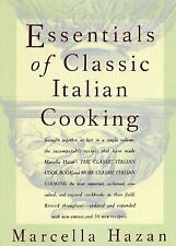 NEW Essentials of Classic Italian Cooking by Marcella Hazan Hardcover Book