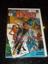 The NEW TITANS Comic - No 55 - Date 06/1989 - DC Comics