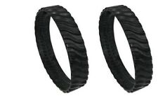 2PK Zodiac Baracuda MX8 MX6 Swimming pool Cleaner Wheel Track Tire R0526100