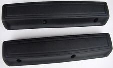 "Mopar 1966-1970 Long 13"" Arm Rest Pads BLACK PAIR Charger Chrysler 300 Fury"