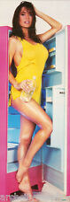 DOOR POSTER: AVA - PINK REFRIGERATOR-SEXY FEMALE MODEL - FREE SHIP #DP64  RAP7 A