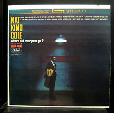 Nat King Cole Where Did Everyone Go? LP VG+ SW 1859 Capitol Stereo 1963 Jazz