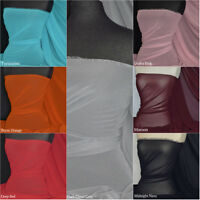 Crinkle Light Weight Soft touch chiffon sheer fabric material Q795