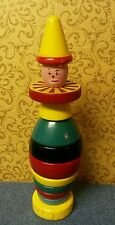 Brio Wood Stacking Clown Toy - Made in Sweden (Vintage)