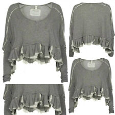 BRAND NEW ALL SAINTS OVERSIZED LOOSE CROPPED T SHIRT TOP COMPLETELY SOLDOUT £85