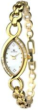 Accurist 8048 Crystal Set Case MOP Dial Cocktail Watch 2 Year Guar RRP £75.00