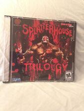 Splatterhouse Trilogy Custom Sega Dreamcast Game.
