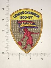 WIBC League Champion 1965-57 Patch - vintage bowling