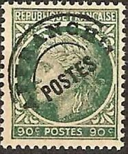 """FRANCE PREOBLITERE TIMBRE STAMP N°89 """"TYPE CERES 90c VERT """" NEUF (x) TB"""