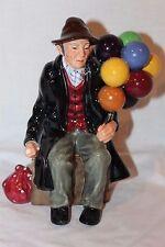 Rare Royal Doulton The Balloon Man with BLUE Balloon HN1954 - #1887 MADE IN 1924