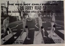 RED HOT CHILI PEPPERS 1988 Advert THE ABBEY ROAD EP