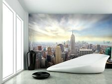 Mural De Papel Foto New York Skyline Pared Decoración Papel Poster Gigante Cityscape