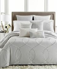 NEW Hotel Collection Finest Silver Crescent KING Duvet Cover  MSRP $570