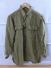 #FH33 US ARMY WW2 Mustard Shirt M1937 Feldhemd Hemd senfbraun siehe Masse