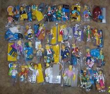 Playmates Simpsons lot Huge Collectoin of 48 Different figures 16 Playsets
