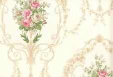 Floral - Damask - FD23249 - Wallpaper