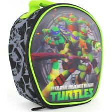 MUTANT NINJA TURTLES Boys Lead-Safe 3-D Insulated School Lunch Tote Box NWT $20
