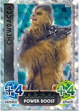 STAR WARS The Force Awakens - Force Attax Trading Card GOLD#214 Chewbacca