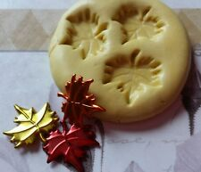 MINIATURE  LEAVES Flexible Silicone Mold-for clay, wax, candy, fondant, resin