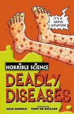 Deadly Diseases (Horrible Science) by Nick Arnold (Paperback, 2008) New Book