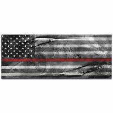 Firemen Flag First Responders Art Firefighters Wall Decor Modern Fireman Artwork