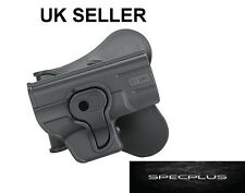 IMI STYLE RIGHT HANDED POLYMER ROTO HOLSTER GLOCK 43 BLACK UK