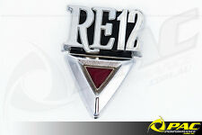 Mazda RX-3 Rear -Beaver Badge